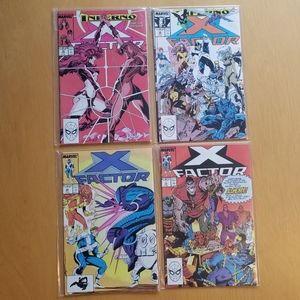 Marvel Comics (Lot of 4) X Factor *****